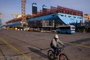 Hàn Quốc giành lại vị trí số một thế giới về đơn hàng đóng tàu
