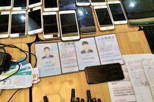 Băt nhóm người Trung Quốc giả danh cán bộ nhiều ngành lừa đảo, chiếm đoạt tài sản