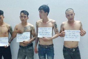 Bắt nhóm thanh niên xăm trổ mạo danh 'hình sự' tấn công cảnh sát giao thông