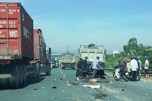 Hà Nam: Hai thanh niên tử nạn sau cú đối đầu với xe ben