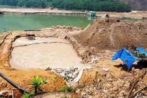 Quảng Nam: Kiểm soát sự cố môi trường của các cơ sở sản xuất, dự án khai thác khoáng sản