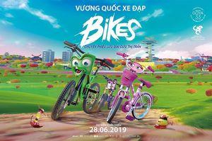 Bikes - Vương quốc xe đạp: chuyến phiêu lưu giải cứu thị trấn của những cô cậu xe đạp đáng yêu