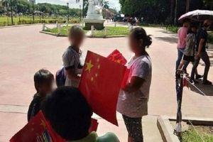 Cờ Trung Quốc bày bán công khai ở Manila, Philippines cấp tập điều tra