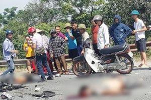 Hà Nam: Xe máy đấu đầu xe tải, 2 nam thanh niên chết thảm