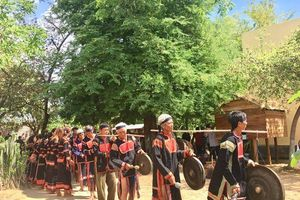 Gia Lai: Phục dựng lễ mừng lúa mới của đồng bào dân tộc Jrai