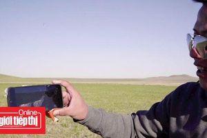 Thử nghiệm thả điện thoại từ độ cao hơn 31.000m