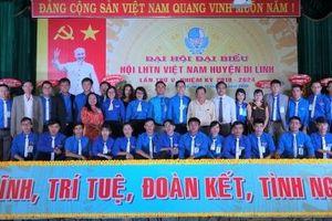 Lâm Đồng: Tổ chức thành công Đại hội Hội Liên hiệp Thanh niên Việt Nam huyện Di Linh nhiệm kỳ 2019 - 2024