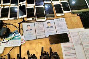 Nhóm người nước ngoài vừa bị bắt ở Sài Gòn chuyên giả danh công an Trung Quốc để lừa đảo