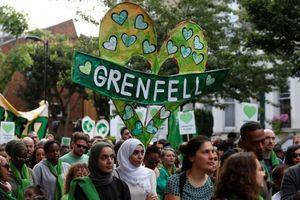 Kiện các công ty Mỹ về vụ cháy tháp Grenfell gây chết người ở London