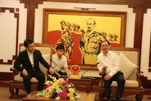 Thứ trưởng Lê Đình Thọ làm việc với Công ty Kume Sekkei
