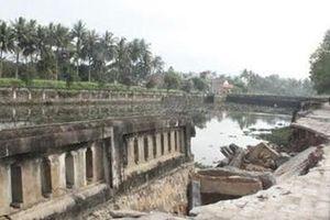 Sửa chữa hệ thống kè Di tích Quốc gia đặc biệt Thành cổ Quảng Trị