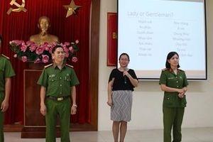 Cao đẳng CSND II nâng cao nhận thức bình đẳng giới cho cán bộ, chiến sỹ