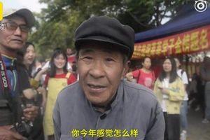 Cụ ông nhặt rác 72 tuổi thi đại học 19 lần khiến dân mạng thán phục
