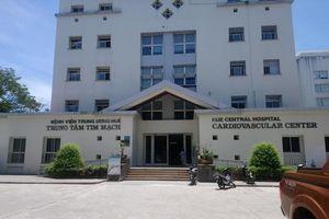 Bệnh viện Trung ương Huế khám sàng lọc tim mạch miễn phí ở Hà Tĩnh