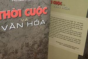Ra mắt cuốn sách 'Thời cuộc và văn hóa'