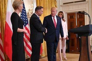 Tổng thống Trump điều thêm 1.000 quân Mỹ đến Ba Lan đồn trú sát cửa ngõ Nga