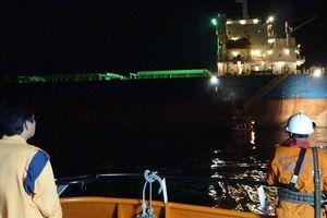 Vượt biển trong đêm cứu thuyền viên tàu nước ngoài gặp nạn