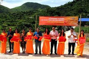 SHB tài trợ xây cầu dân sinh giúp người dân vùng lũ