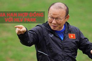 VFF đang đàm phán gia hạn hợp đồng với HLV Park Hang-seo