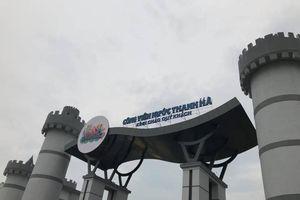 Công viên nước Thanh Hà bị phạt 20 triệu đồng, yêu cầu dừng hoạt động