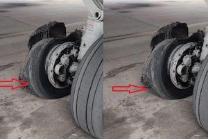Gặp sự cố nổ lốp, máy bay Ấn Độ vẫn hạ cánh an toàn