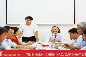 Cần phối hợp chặt chẽ với BHXH Hà Tĩnh trong thực hiện chính sách BHYT