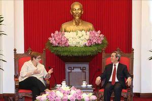 Thúc đẩy hợp tác chiến lược Việt Nam - Australia