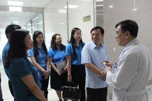 Công bố chương trình hợp tác khám sức khỏe miễn phí cho con CNVCLĐ