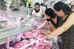 Giá bán lẻ thịt lợn tại Tp. Hồ Chí Minh ổn định