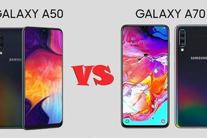 Galaxy A50, A70 giảm 1,9 triệu đồng tại Di Động Việt