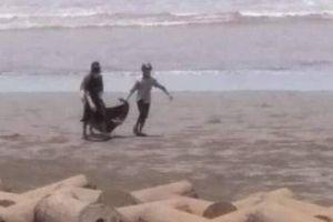 Danh tính thi thể nam giới lõa thể, mất đầu ở bờ biển Nam Định