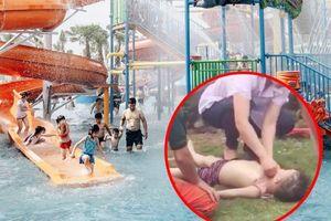 Vụ bé trai đuối nước ở Công viên nước Thanh Hà: Tai họa trước... giờ cấm