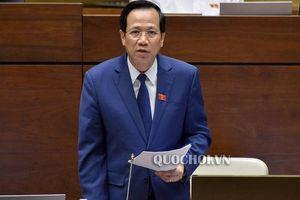 Bộ trưởng Đào Ngọc Dung nói về cái khó của điều chỉnh tuổi nghỉ hưu