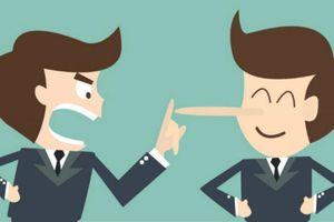 Không nên 'Nói đi nói lại, sai coi như đúng'!