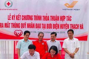 Ra mắt thùng quỹ nhân đạo tại Thạch Hà - Hà Tĩnh