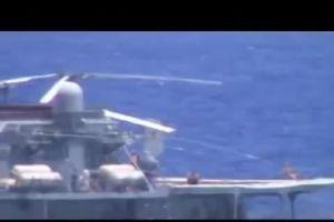 Nghi Mỹ dàn dựng vụ suýt va chạm tàu chiến Nga