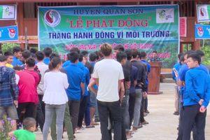 Quan Sơn, Thanh Hóa: Tổ chức thành công lễ phát động ngày môi trường thế giới năm 2019