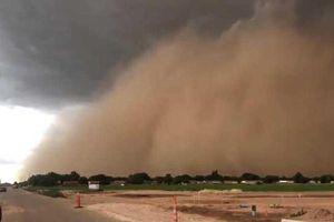 Kinh hoàng khoảnh khắc bão bụi nuốt chửng các cánh đồng ở Mỹ