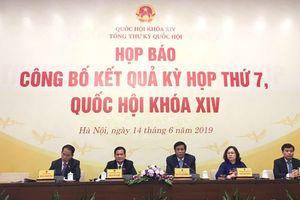 Kỳ họp thứ 7, Quốc hội khóa XIV thành công, hoàn thành chương trình đề ra