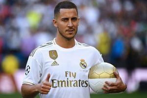 Real Madrid trình làng 'bom tấn' Hazard trước 50.000 cổ động viên