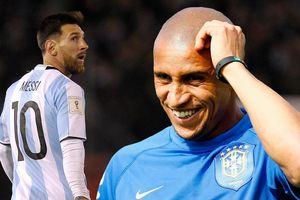 Roberto Carlos: 'Messi kém may mắn khi trở về đội tuyển Argentina'