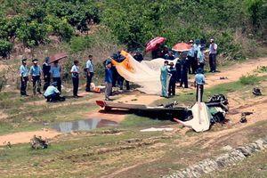 Máy bay Yak-52 gãy đôi khi gặp nạn ở Khánh Hòa