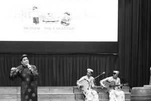 Bàn thảo về di sản văn hóa phi vật thể với sinh viên