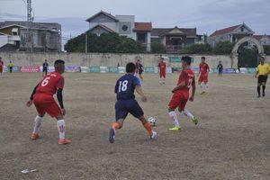 Sức 'nóng' từ giải bóng đá tỉnh Quảng Bình năm 2019