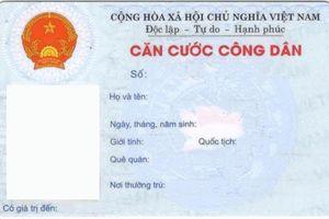 Có phải trả chứng minh nhân dân khi làm thẻ căn cước công dân?