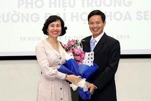 Trường ĐH Hoa Sen có phó hiệu trưởng mới