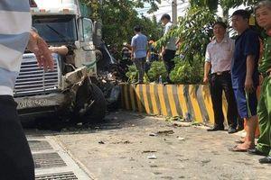 Nguyên nhân vụ container tông ô tô con, 5 người tử vong