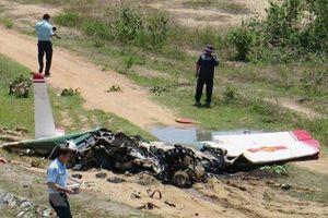 Hai phi công hy sinh trong vụ máy bay quân sự rơi tại tỉnh Khánh Hòa