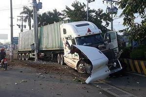Tạm giữ tài xế xe container gây tai nạn khiến 5 người tử vong