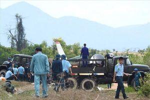 Tai nạn máy bay quân sự ở Khánh Hòa: Hoàn tất thu gom xác máy bay